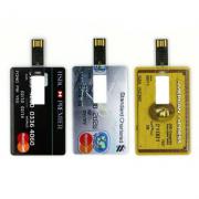 Pendrives Cartão personalizado  - Modelo P185 - 4 GB - Promoção relampago