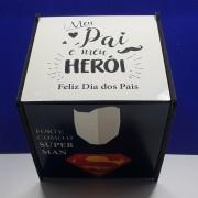 Presente Dia dos Pais - Caixa MDF Personalizada