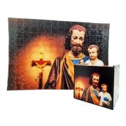 Presente Quebra-cabeça Dia dos Pais São José de 300 peças + caixa