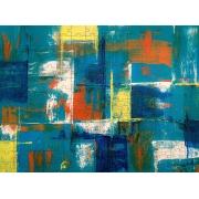 Quadro Decorativo Para Sala Abstrato 300 Pcs