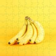 Quebra-cabeça 24 Peças Bananas Para Idosos Com Peças Grandes