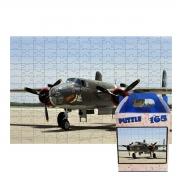 Quebra-cabeça Aviões Antigos de 165 peças