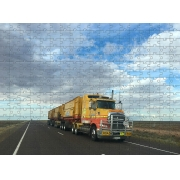 Quebra Cabeça Caminhão Truck de 165 peças + Chaveiro presente