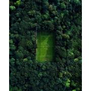 Quebra-cabeça Campo de Futebol Arte 300 peças