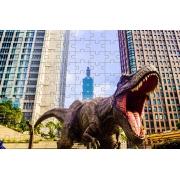 Quebra-Cabeça Cognitivo Reabilitação para Idosos - Dinossauros