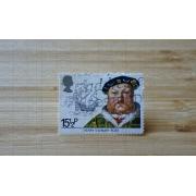 Quebra-cabeça colecionador de selos de 300 peças