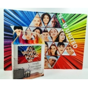 Quebra-cabeça com Fotos do grupo Pop Now United - 90 peças