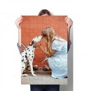 Quebra-cabeça De 1000 Peças Personalizado Fotos Seu Pet + Brinde