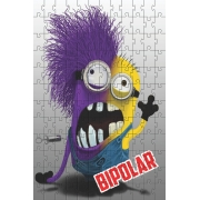 Quebra-cabeça de 165 peças Minion Bipolar
