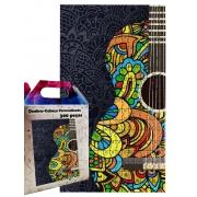 Quebra-cabeça Decorativo Violão Colors de 300 peças