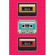 Quebra-cabeça Fita Cassete K7 de 300 peças
