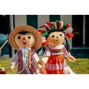 Quebra cabeça infantil para Crianças - Tema Bonecas - 24 peças