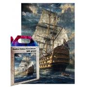 Quebra-cabeça Navio Pirata de 300 peças