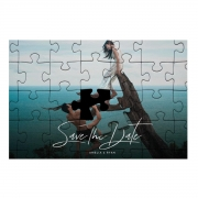 Quebra Cabeça Presente Dia dos Namorados 252 peças + Chaveiro