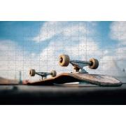 Quebra Cabeça Skate Shape Lovers de 300 peças + Chaveiro Presente