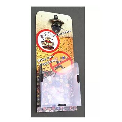 ABRIDOR DE GARRAFAS COM DISPENSER - 15 peças