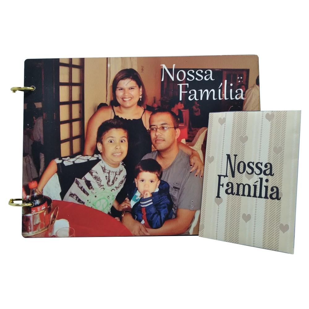 Álbum de Figurinhas personalizado em MDF - Lançamento Exclusivo