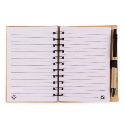 Bloco de anotações bambu - Cod 13775 - 30 peças