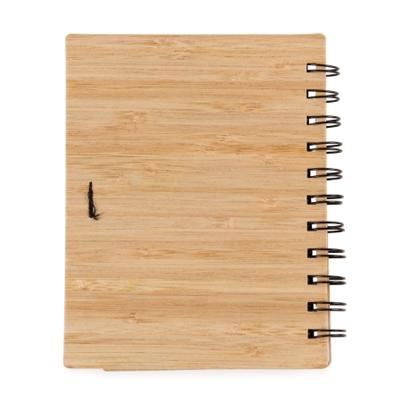 Bloco de anotações bambu - Cod 13775