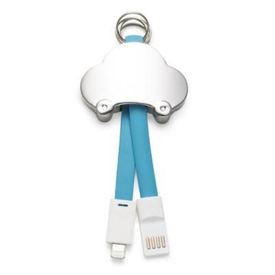 Cabo chaveiro de dados iphone - Cod 13214 - 15 peças