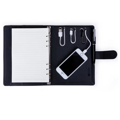 Caderno com power bank - Cod 14184 - 15 peças