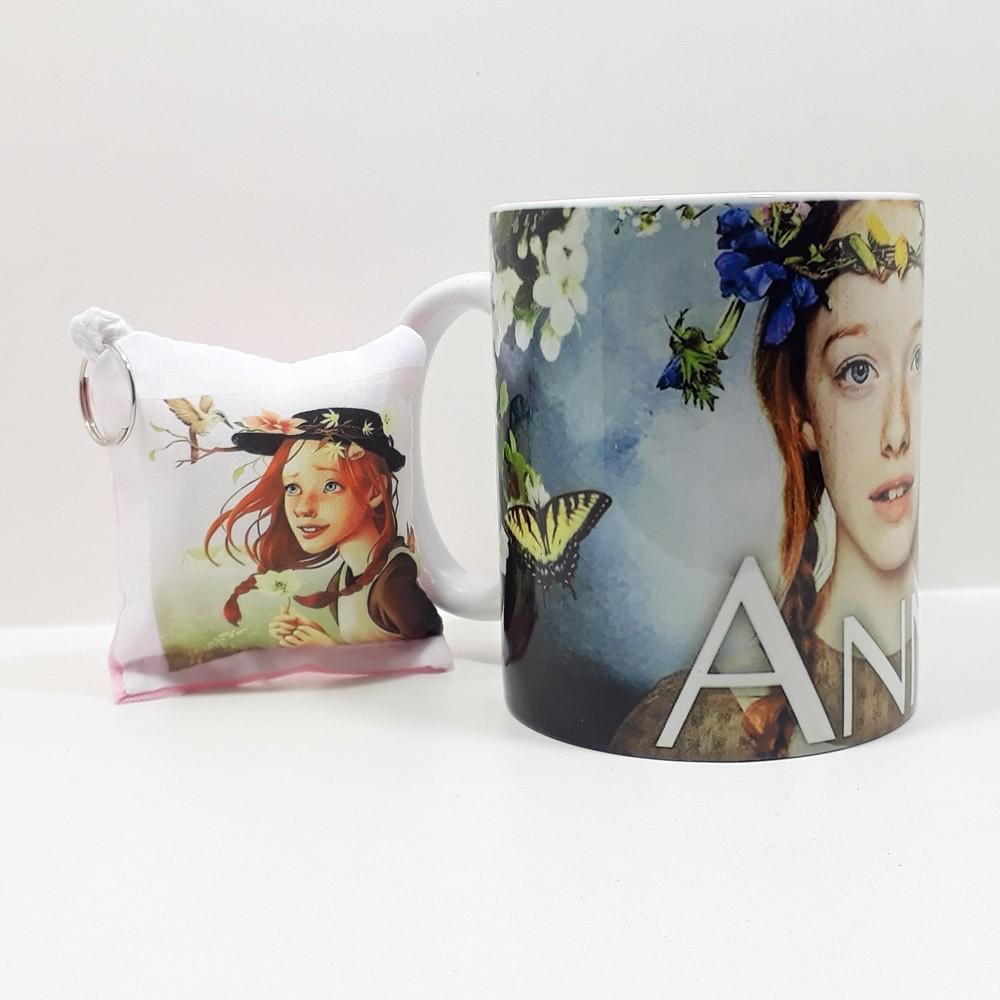 Caixa Anne with an E! com Quebra-cabeça 300 peças + caneca