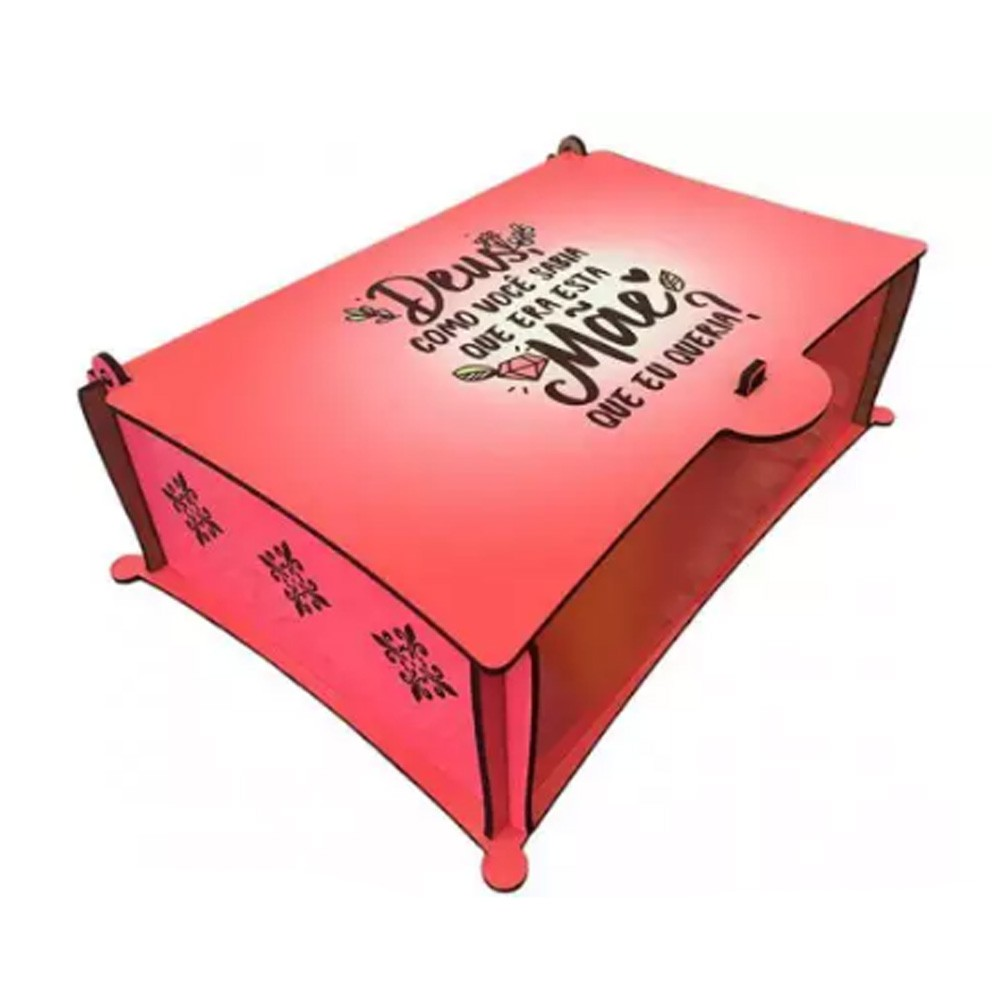Caixa de Chá em MDF - CXMDF-017