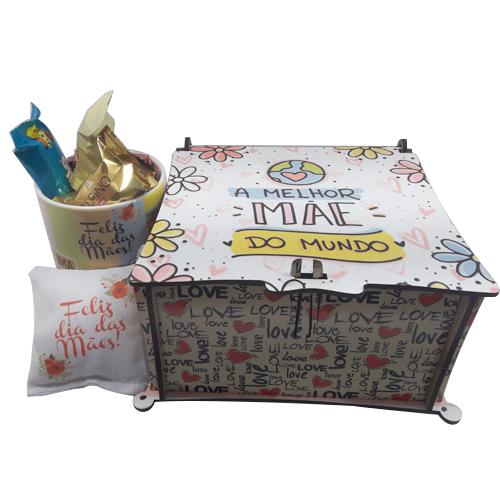 Caixa de Chocolates Dia das Mães + Brinde Especial