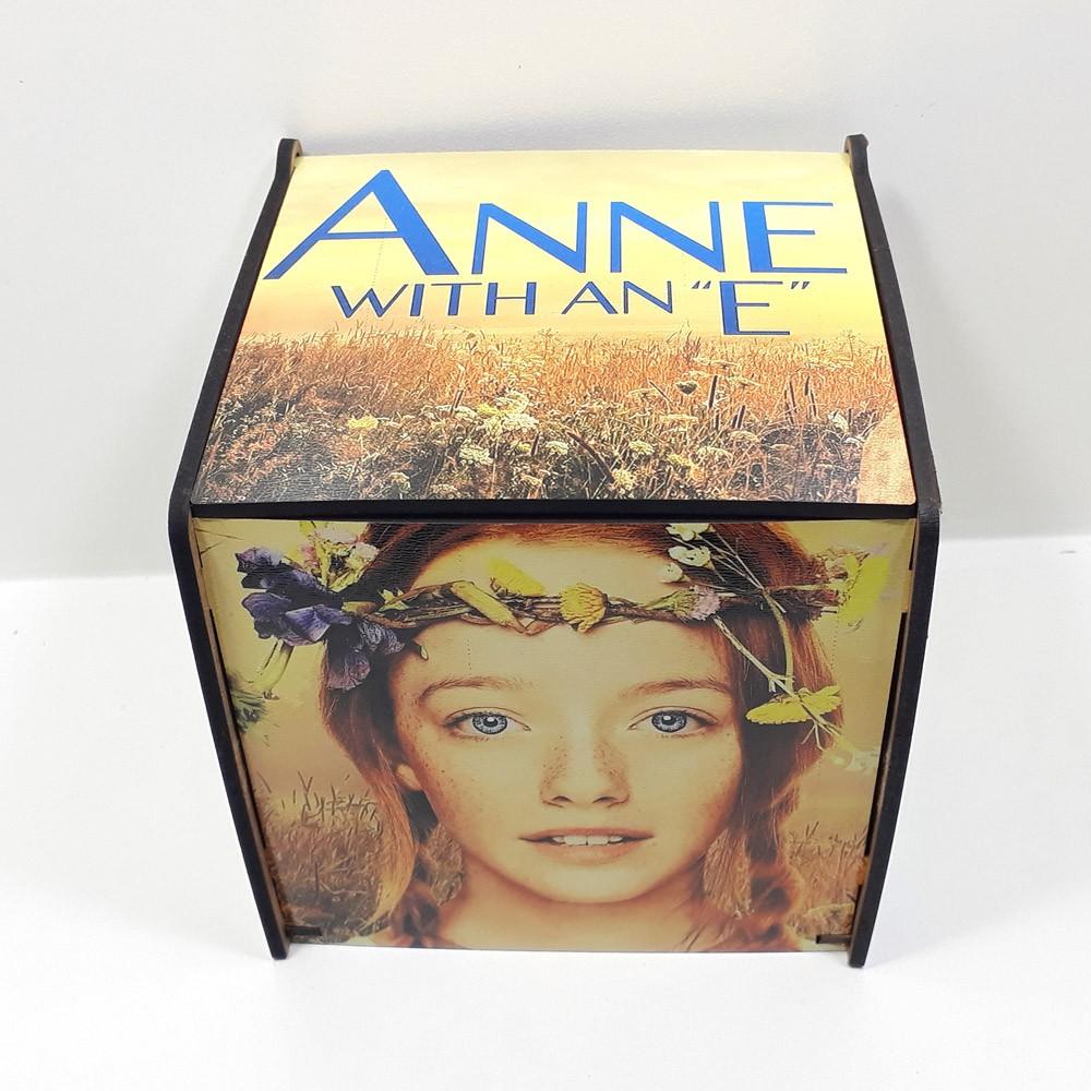 Caixa de MDF personalizada seriado Anne with an E