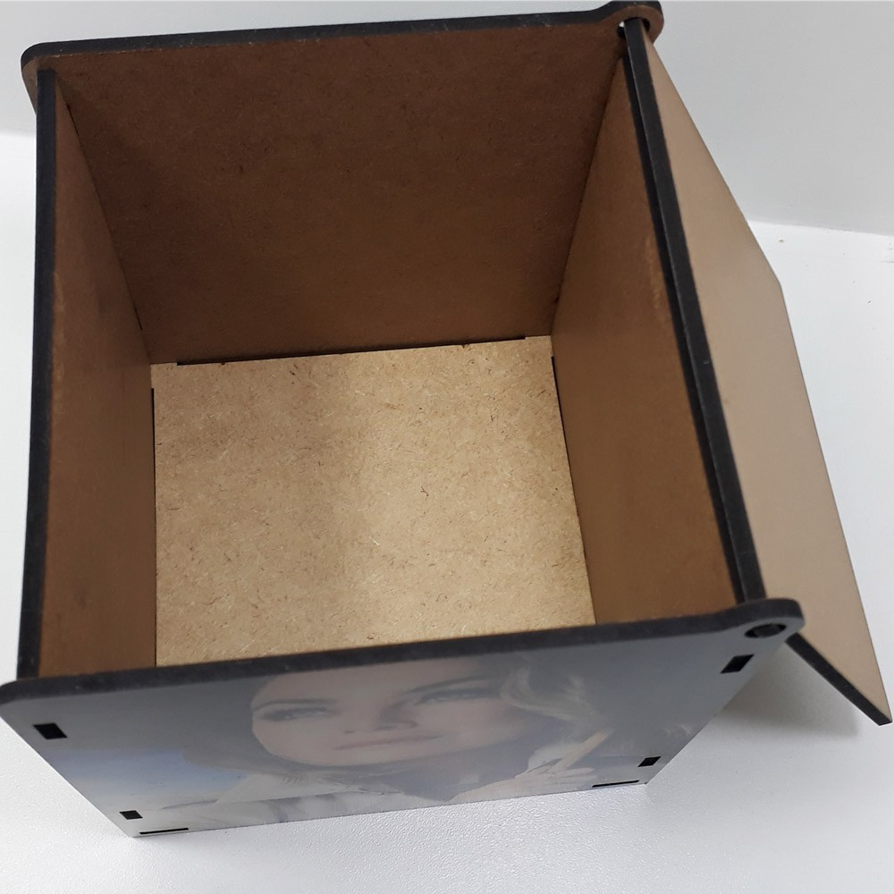 Caixa de MDF personalizada seriado Grey's Anatomy