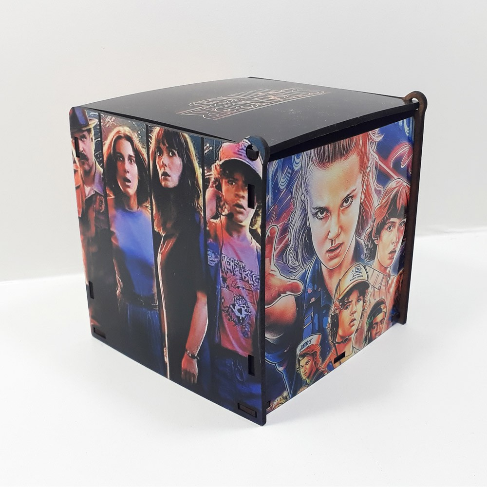 Caixa de MDF personalizada seriado Stranger Things