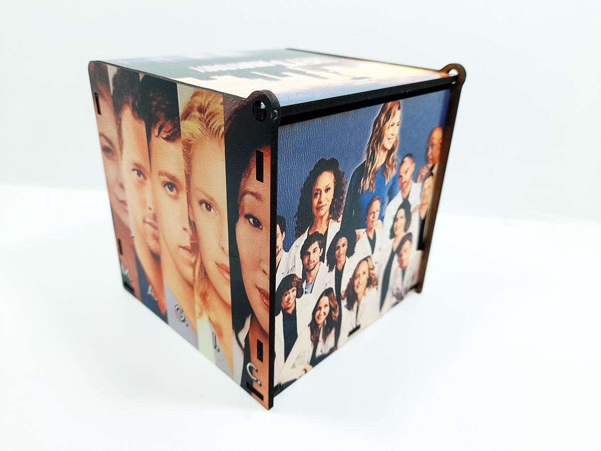 Caixa de Presente Personalizada seriado Grey's Anatomy 2021