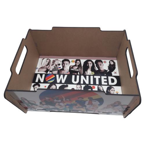 Caixa Empilhável Now United