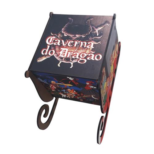 Caixa MDF Caverna do Dragão