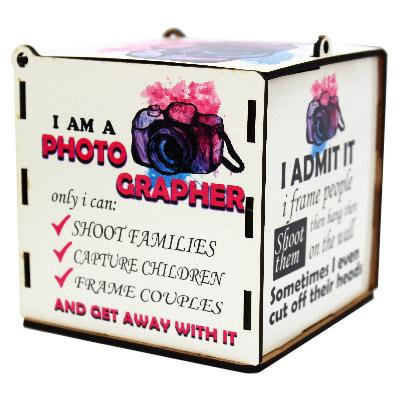 Porta Jóias para Fotógrafos  - I Admit - Fotógrafos do Bem