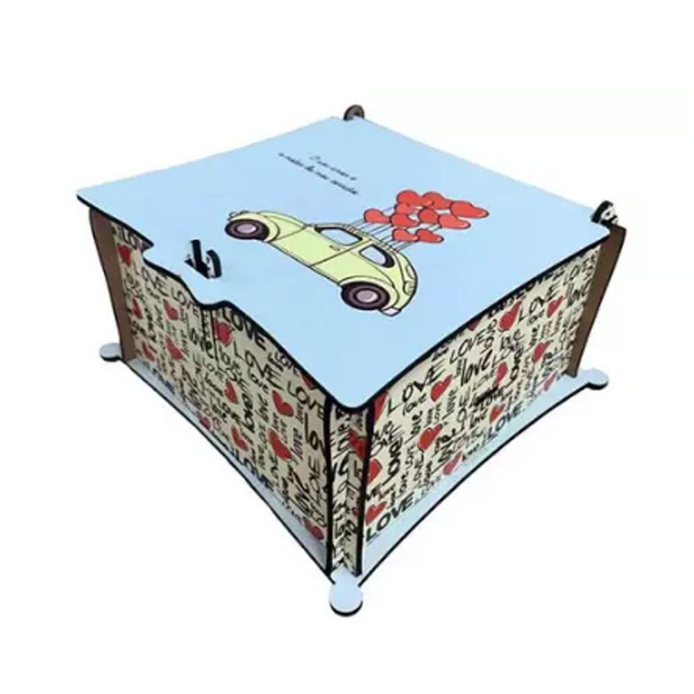 Caixa MDF para Caneca Presente - CXMDF-011