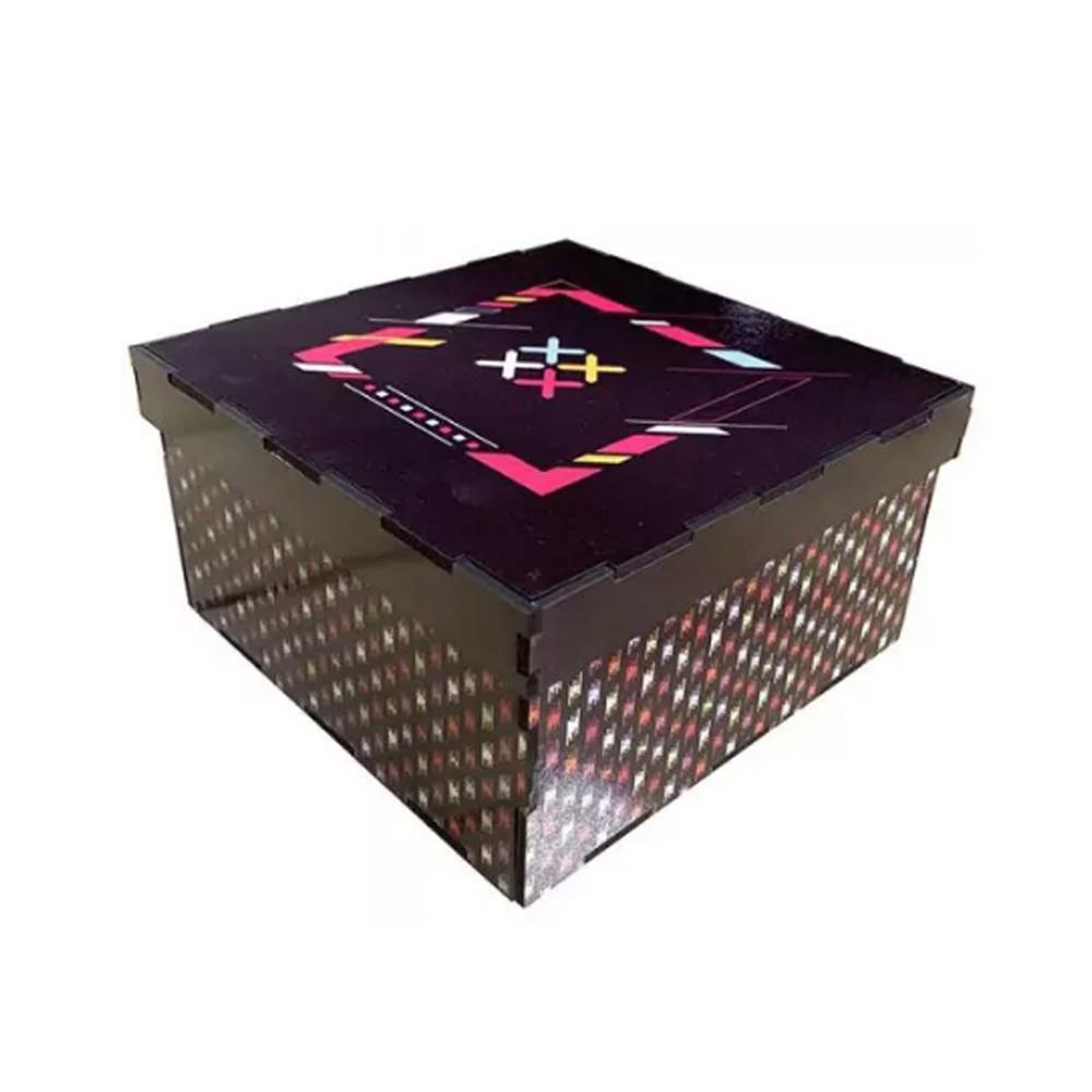 Caixa MDF personalizada para Presente - CXMDF-010
