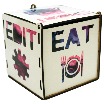 Caixa Porta Treco para Fotógrafos - Fuel Coffee Edit  - Fotógrafos do Bem