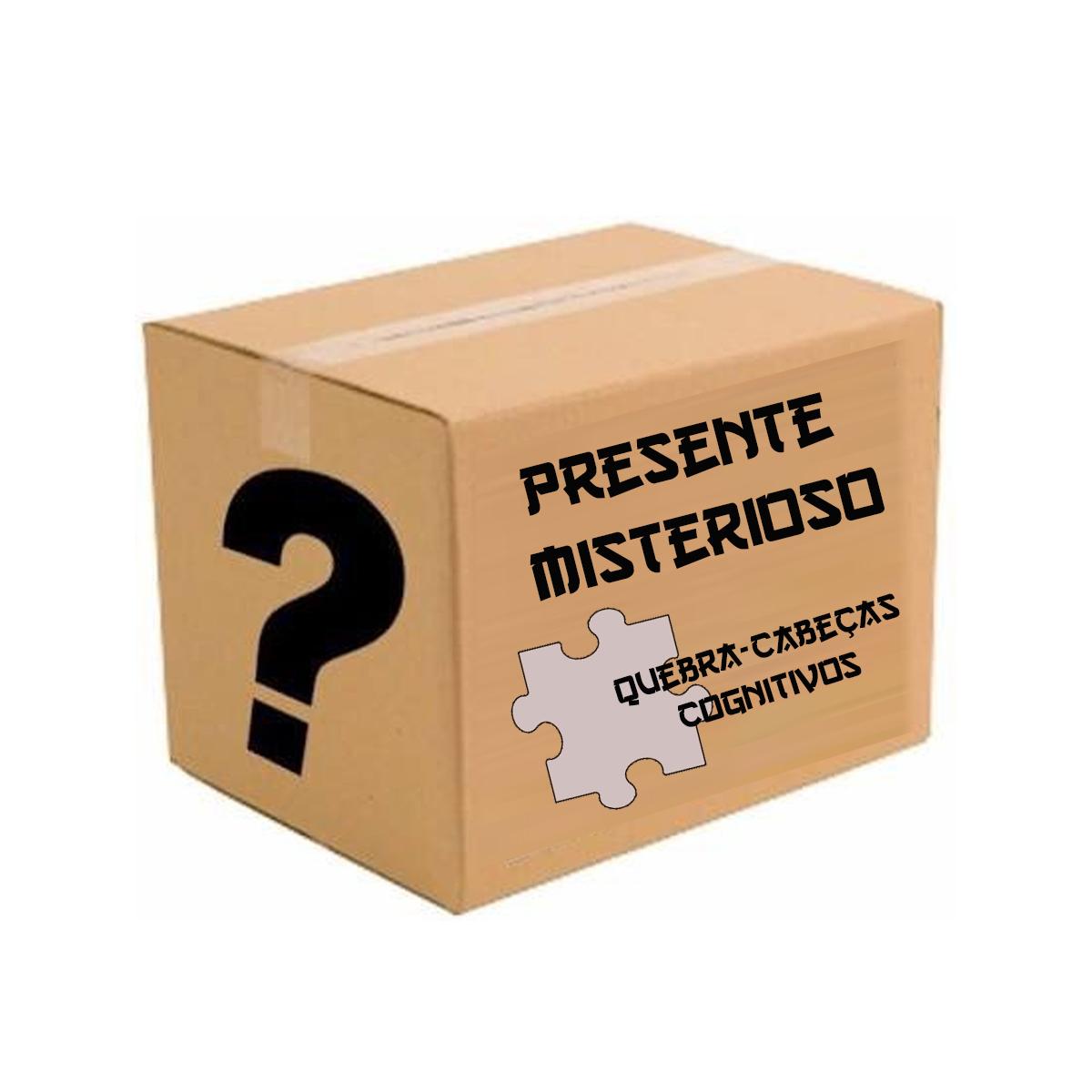 Caixa Misteriosa Quebra-cabeças e Jogos Cognitivos Para Idosos