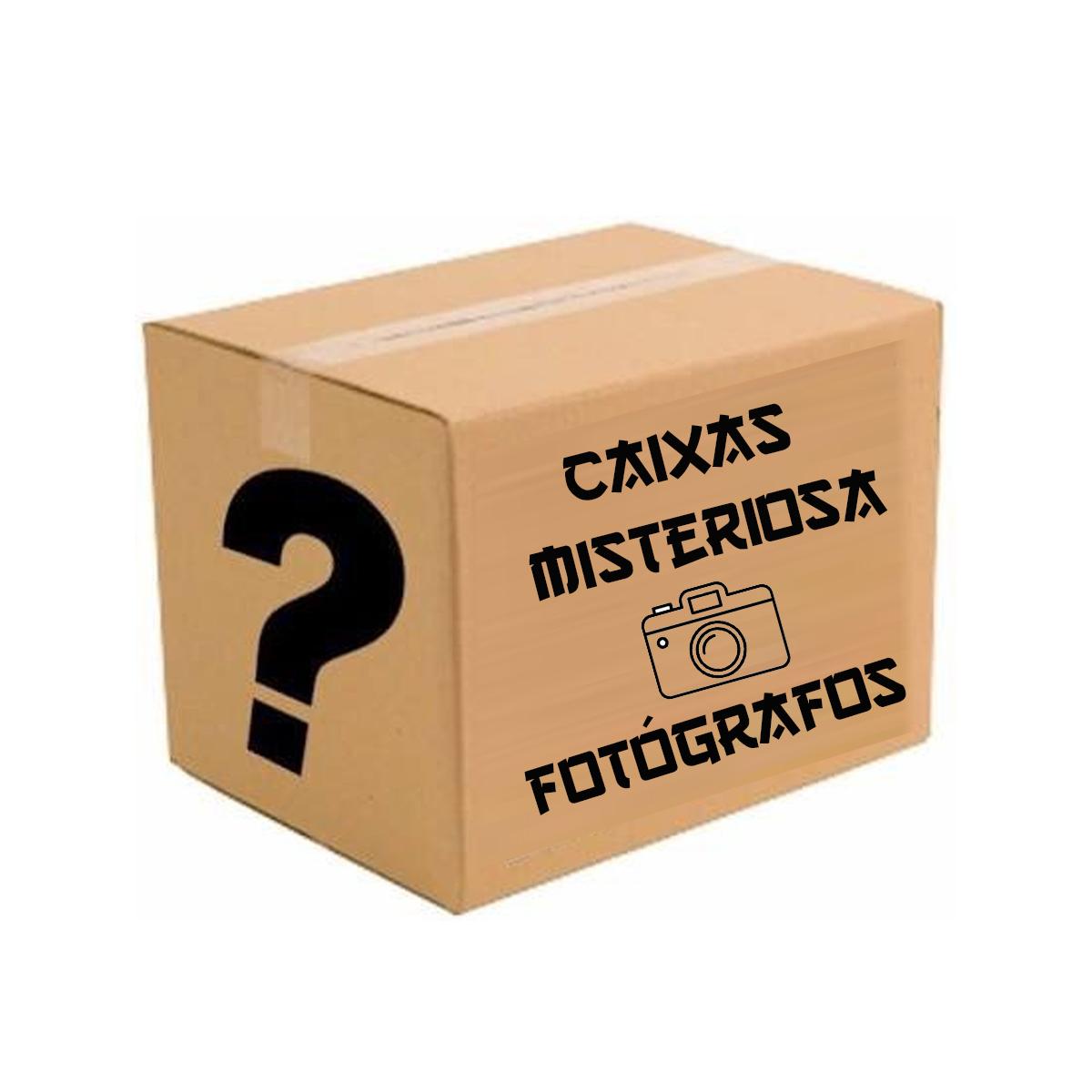 Caixa Misteriosa Retrô Produtos Artesanais Para Presentes