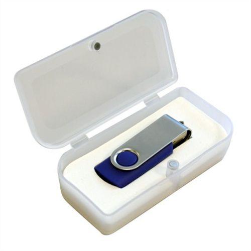 Caixa Plástica Transparente - PL11 -  caixas para pendrives