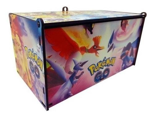 Caixa Porta Cards Pokemon Go Personalizada