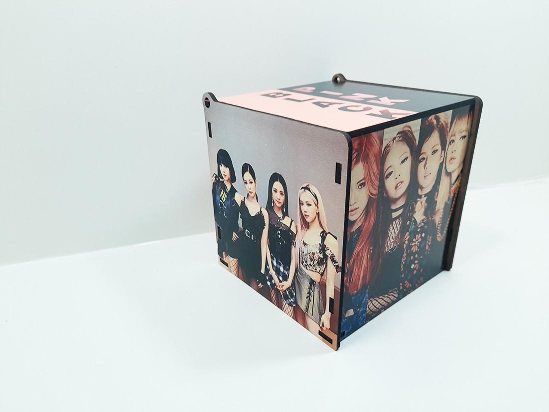 Caixa Porta Jóias personalizada Grupo K-pop Black Pink