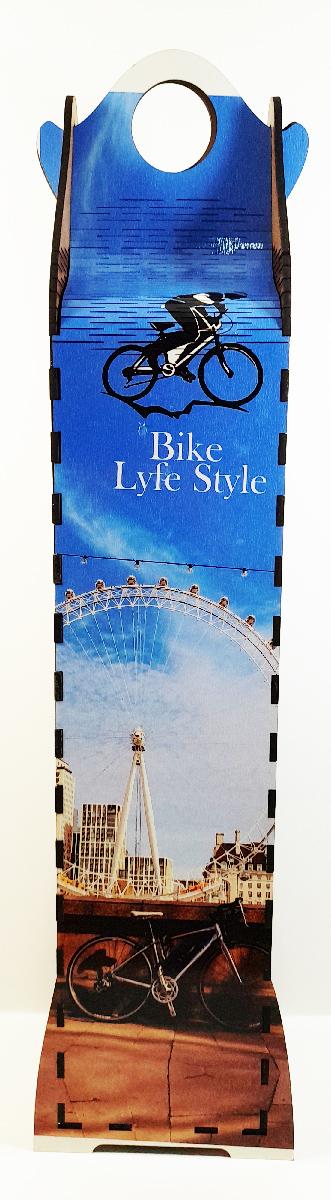 Caixa Torre Decorativa Bicicletas - Presente Dia dos Pais Ciclistas