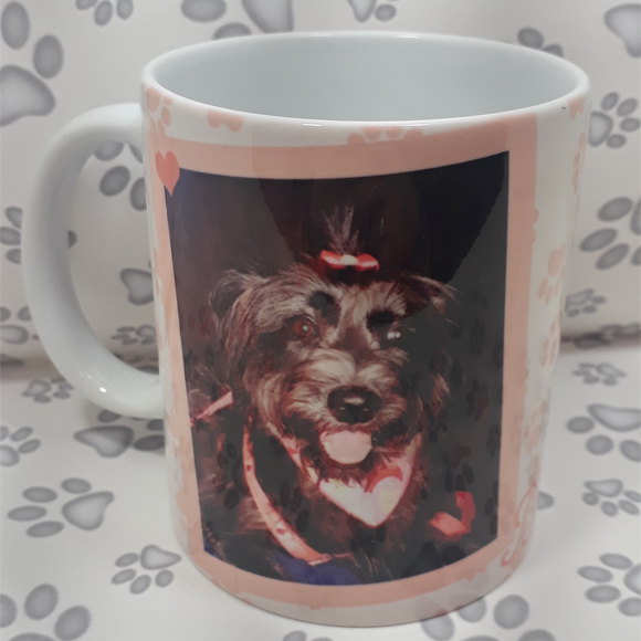 Caneca de Cachorro Personalizada com Comedouro pra Cachorro