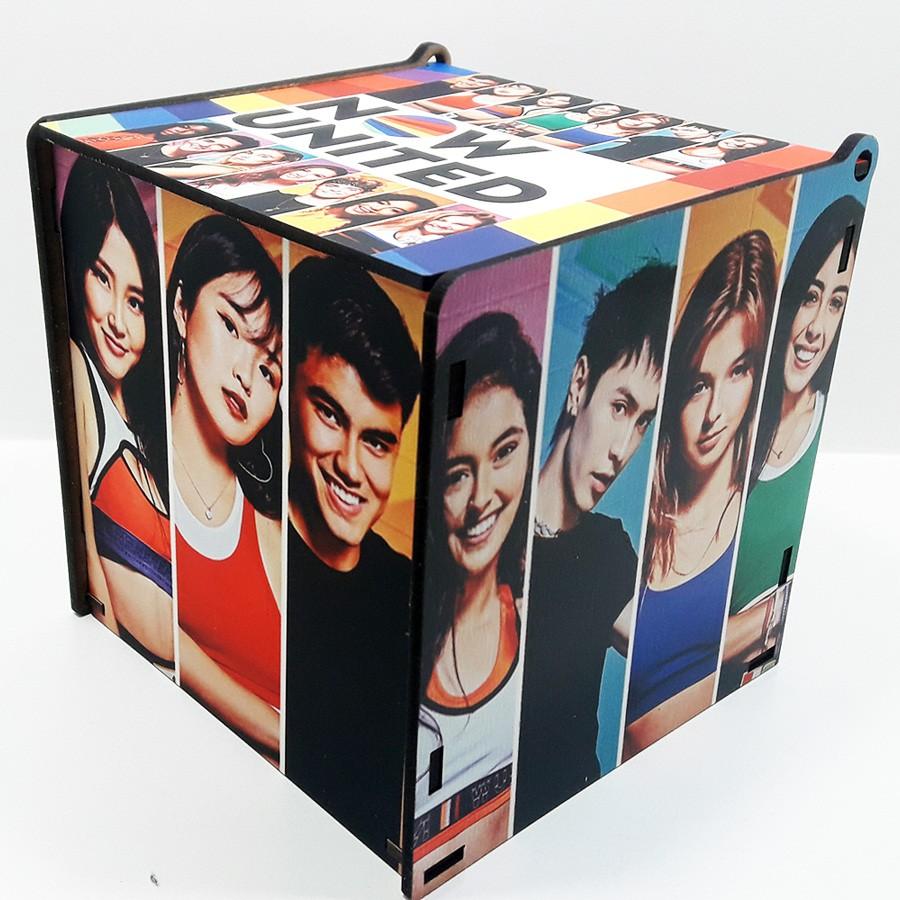 Caneca Now United + Quebra-cabeça color Now united + caixa Fã MDF