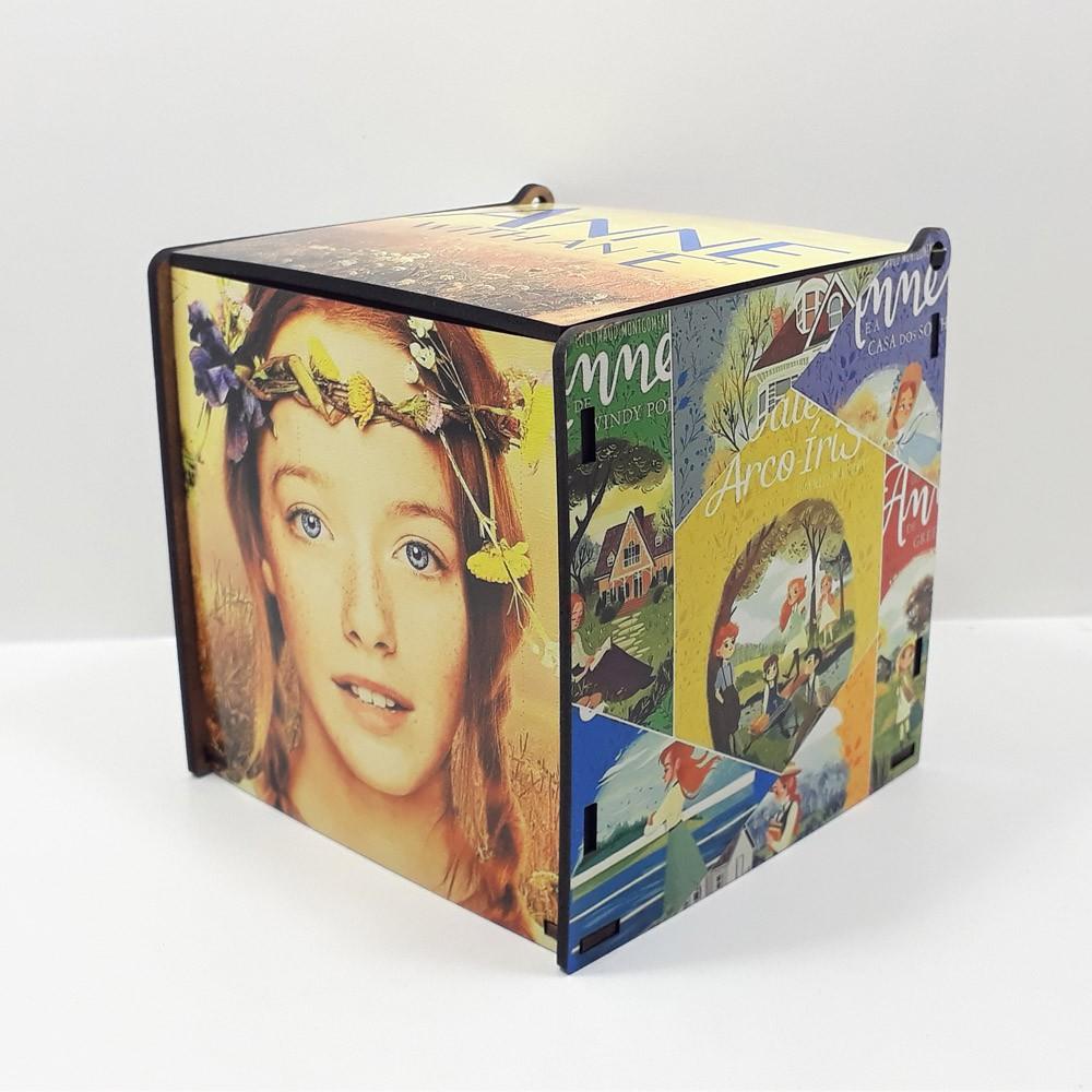 Caneca personalizada série Anne with an E e Caixa MDF personalizada com fotos
