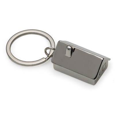 Chaveiro Metal Casa 3D  - Cod 12210 - 30 Peças