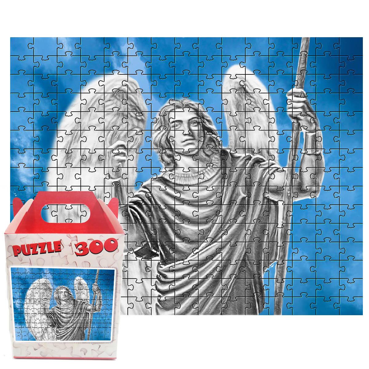 Coleção 4 Quebra-cabeças Anjos de 300 peças