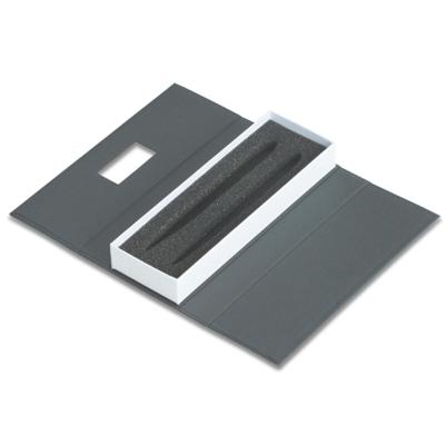 Conjunto caneta e lapiseira metal - Cod ER180PAR-BCO - 15 peças